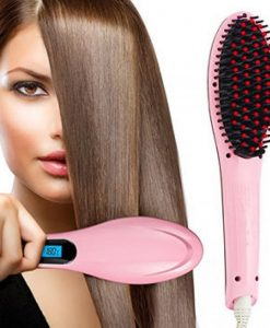 Fast Hair Brush Straightener