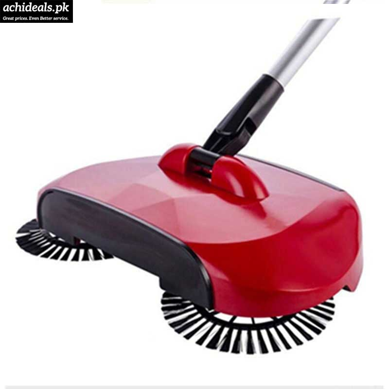 Sweep Drag No Electricity Spin Broom Vacuum Cleaner
